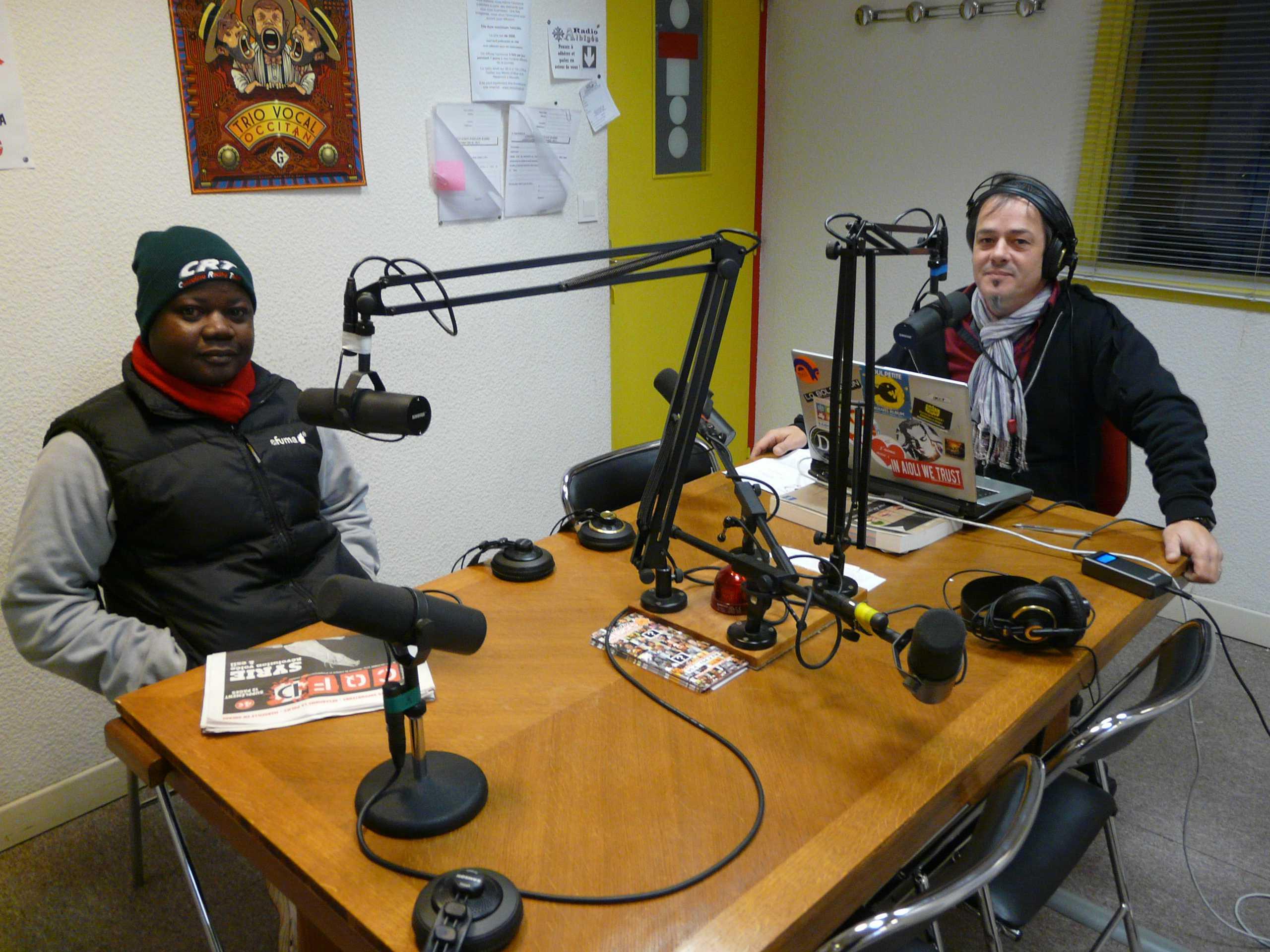 Francis Guelbéogo à Radio Albiges reduit